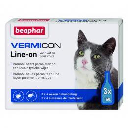 Vermicon Spot On Cat Противопаразитни пипети за Котка