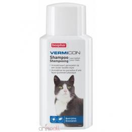 Vermicon Shampoo Противопаразитен Шампоан за котки 200мл
