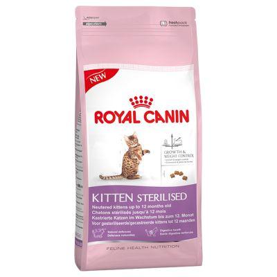 Royal Canin Kitten Sterilised - Храна за кастрирани подрастващи котета