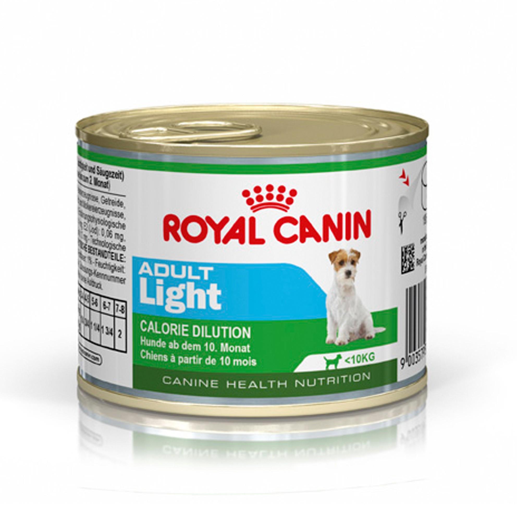 Royal Canin Mini Adult Light - Пастет за израстнали кучета от дребните породи с наднормено тегло