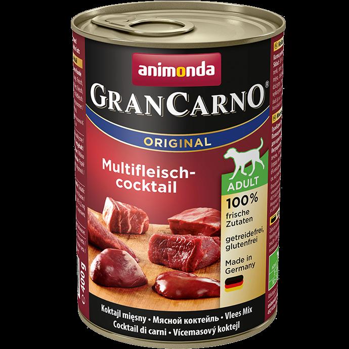 Gran Carno Adult Multi-fleischcokctail - Хапки с говеждо, пиле и заек
