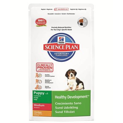 Hills Canine SP Puppy Medium Храна за подрастващи Кученца от средните породи