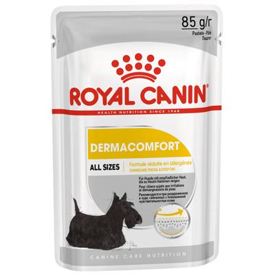 Royal Canin Dermacomfort Loaf 85гр- Пауч за Кучета с Кожни проблеми от всички породи