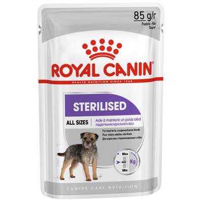 Royal Canin Sterilised Loaf - Пауч за Кастрирани Кучета от Всички породи 85гр