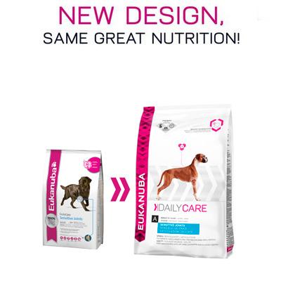 Eukanuba Daily Care Sensitive Joints - Храна за израстнали кучета със ставни проблеми