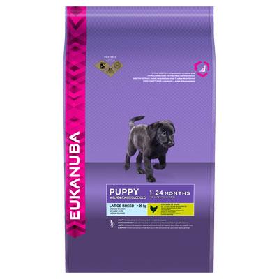Eukanuba Puppy & Junior Large Breed - Храна за подрастващи кученца от големите породи