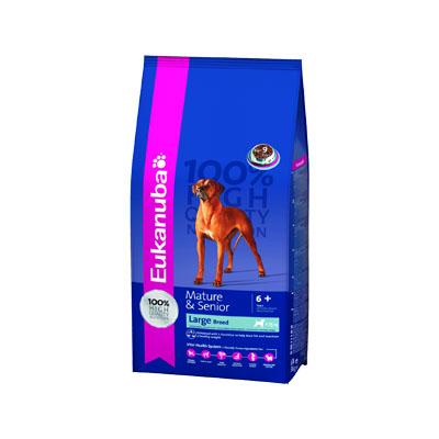 Eukanuba Senior Large Breed - Храна за възрастни кучета от големите породи